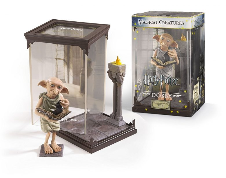 Harry Potter Dobby con diorama