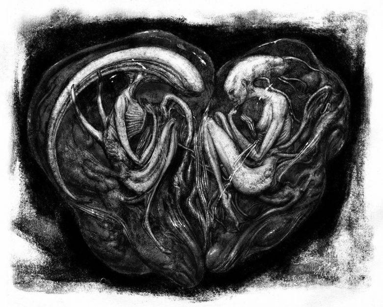 Alien Covenant concept degli Xenomorfi