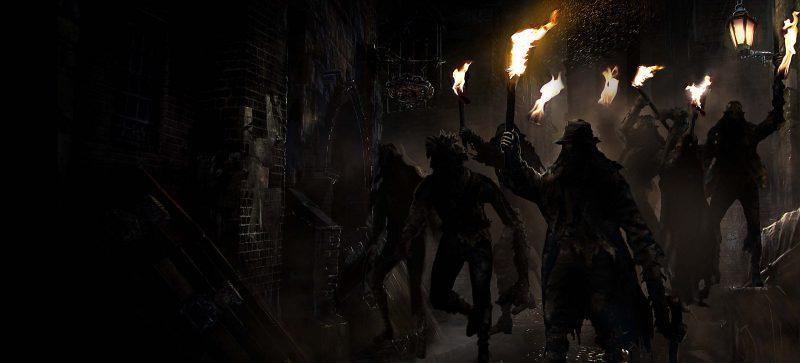 fanatici della caccia Bloodborne
