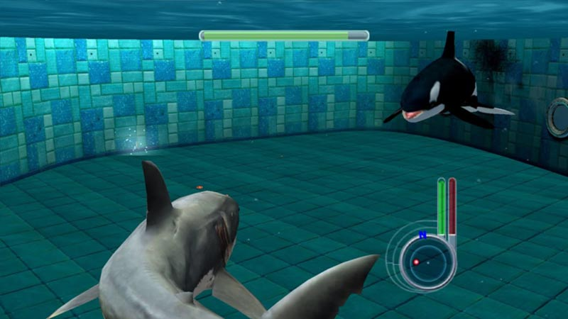 Jaws Unleashed videogioco squalo e orca
