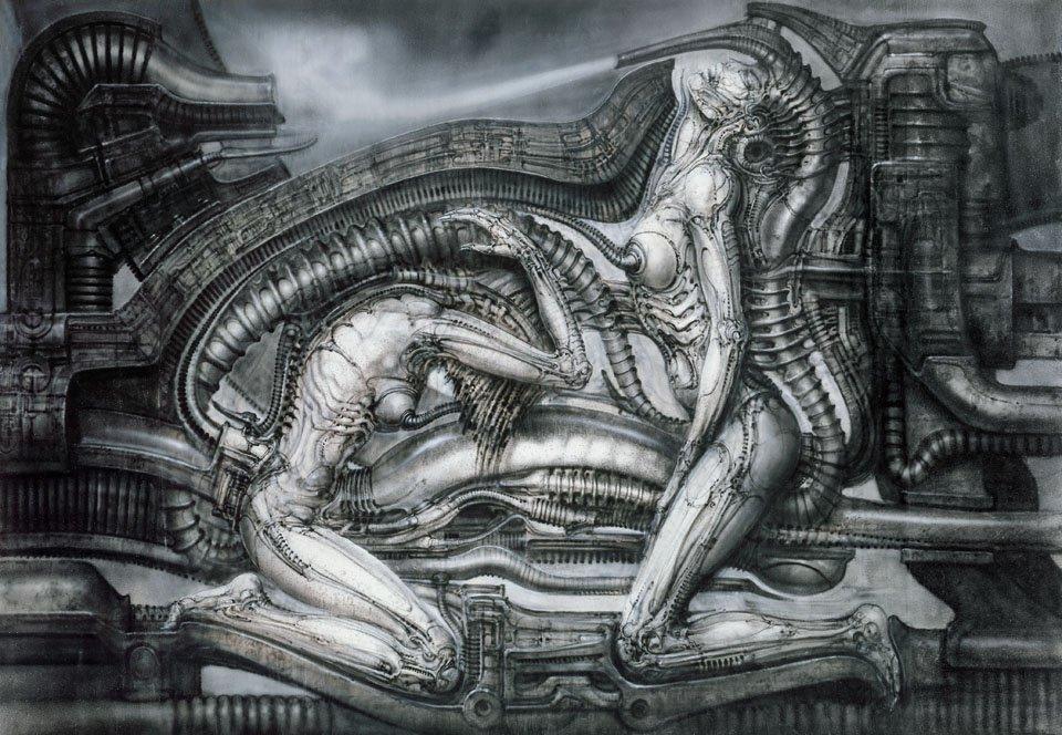 Creature biomeccaniche di Hans Ruedi Giger