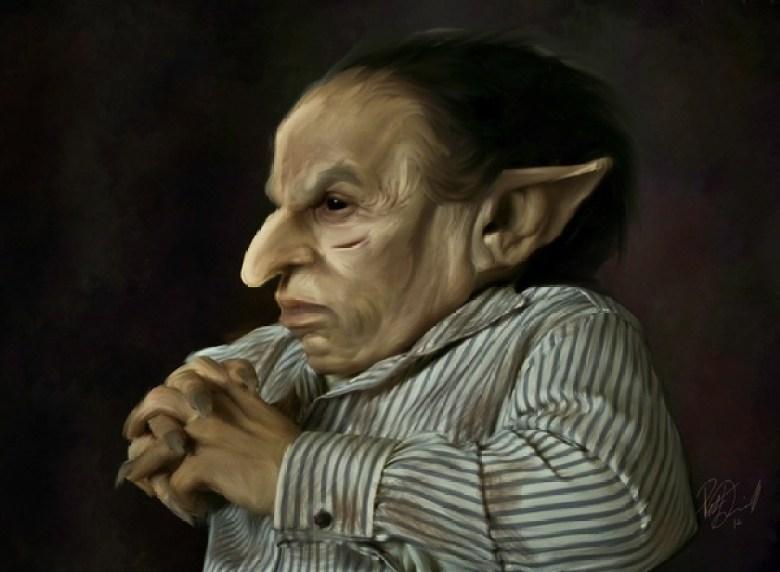 Illustrazione di un Goblin