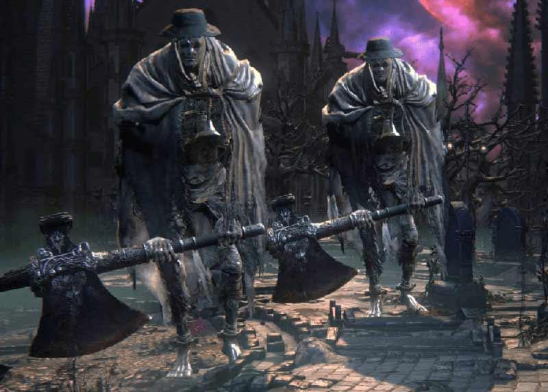 Bloodborne Giganti della chiesa