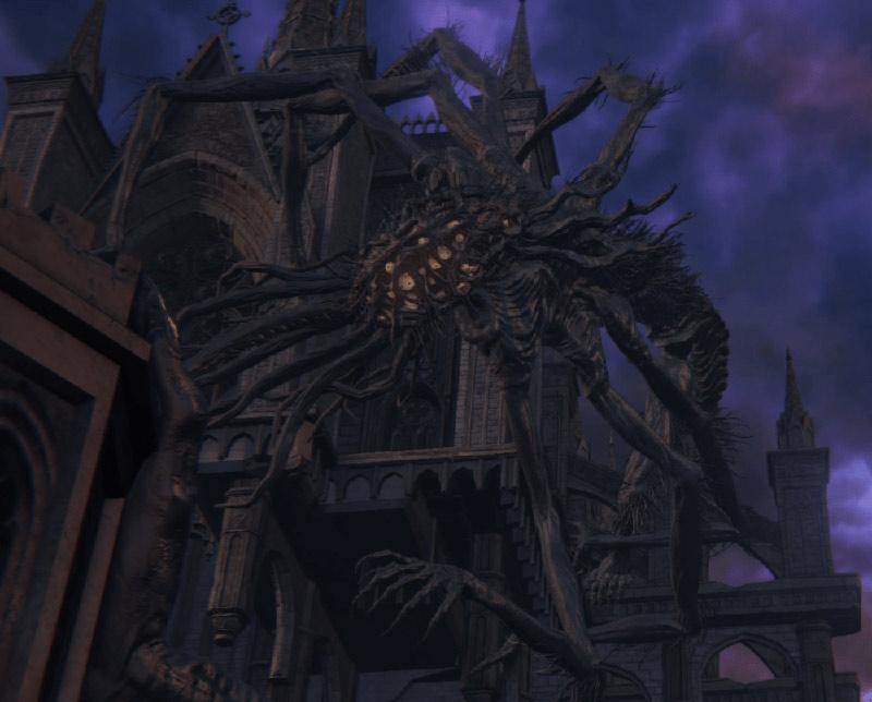 Bloodborne mostro Amygdala