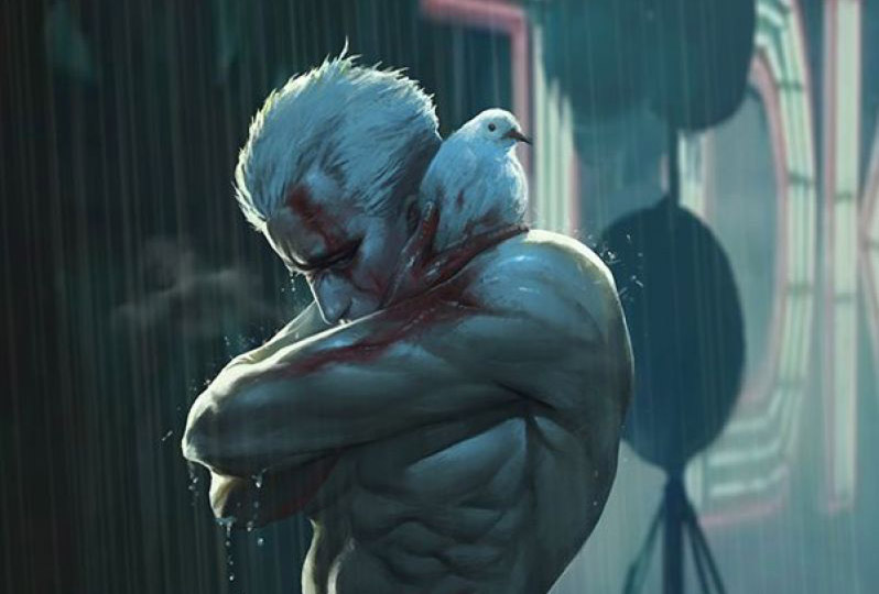 Blade Runner Roy Batty pioggia