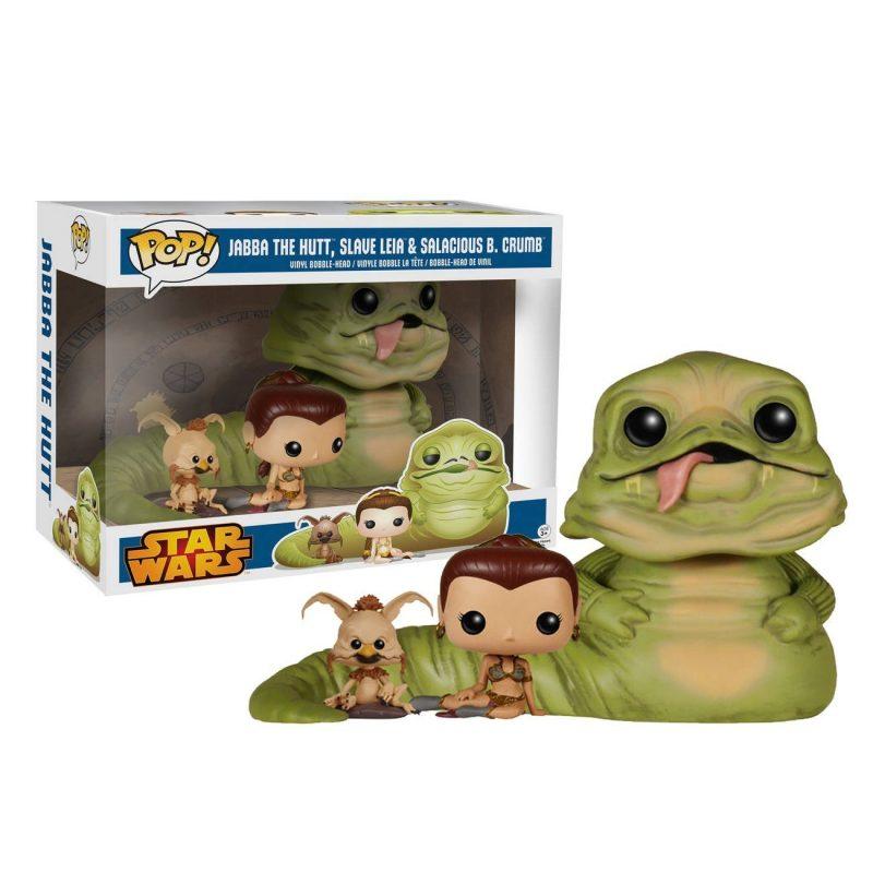 Funko Pop Jabba scimmia e Leia