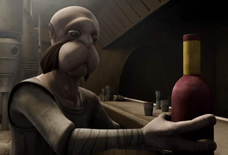 Nimbanel Star Wars alieno