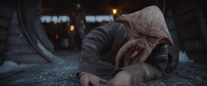 Quarren alieno Mandalorian