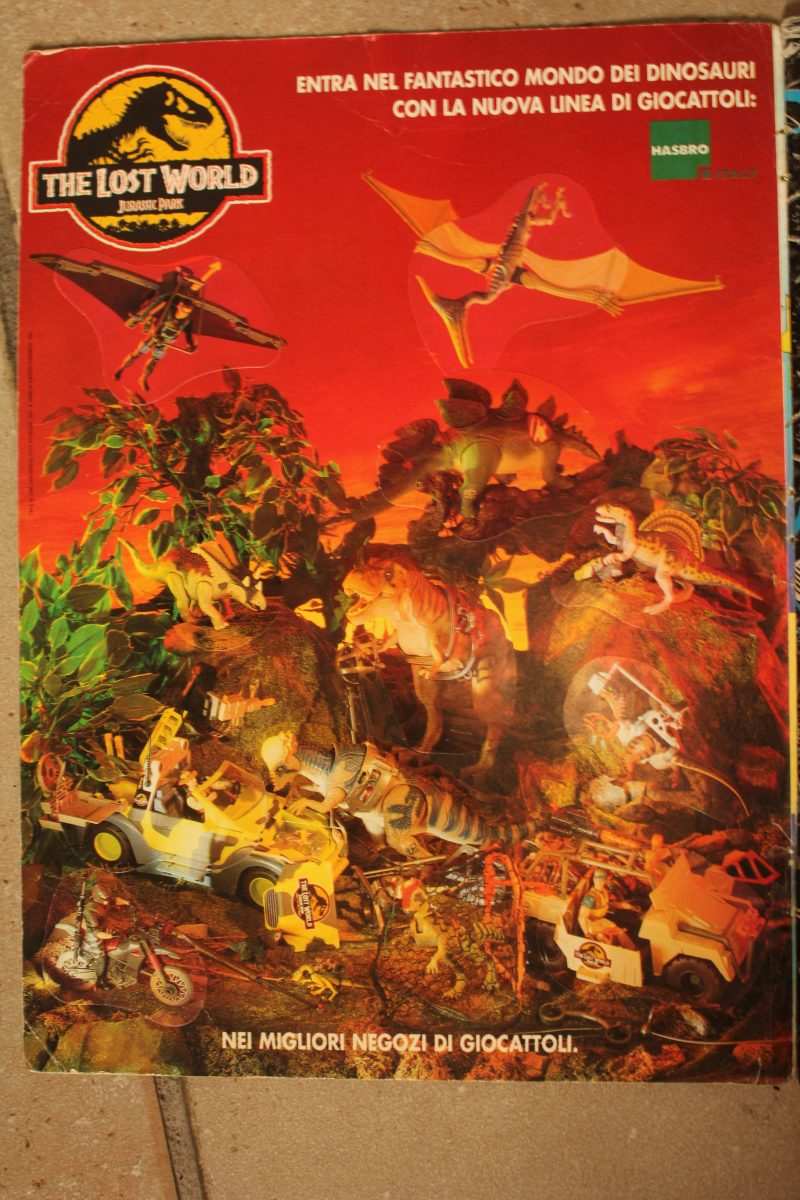 Locandina Hasbro Jurassic Park The Lost World
