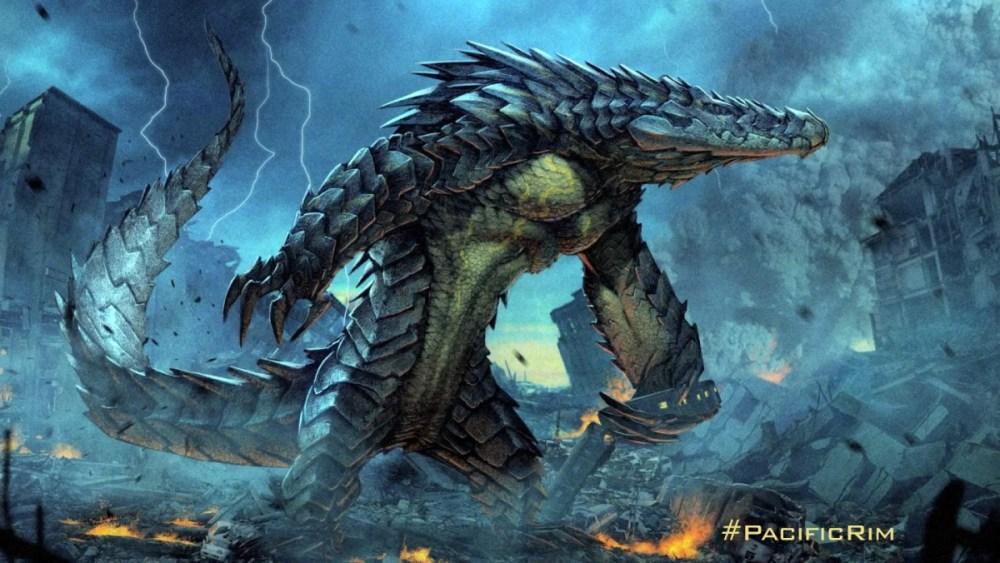 Pacific Rim concept dei Kaiju