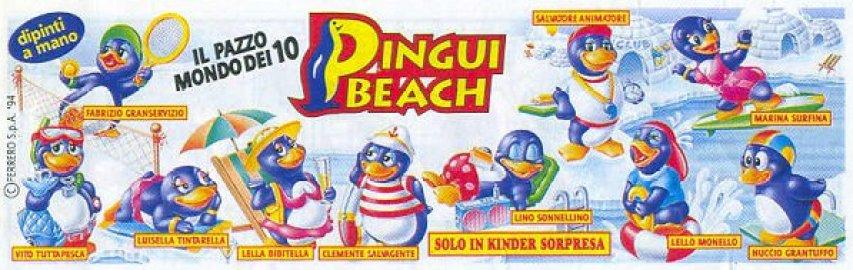 Pingui Beach sorprese Kinder