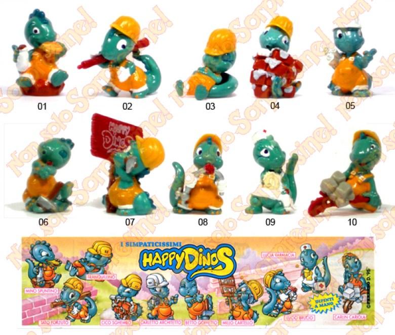 Happy Dinos sorprese Kinder