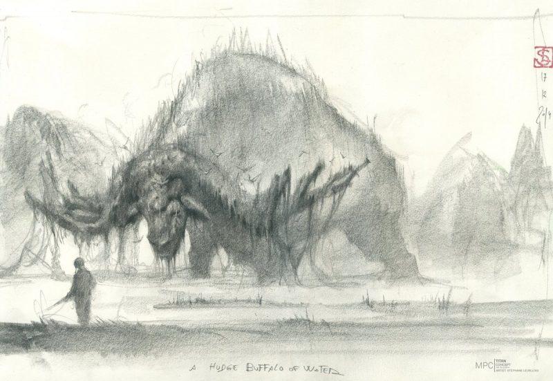 Bufalo Sker in Skull Island