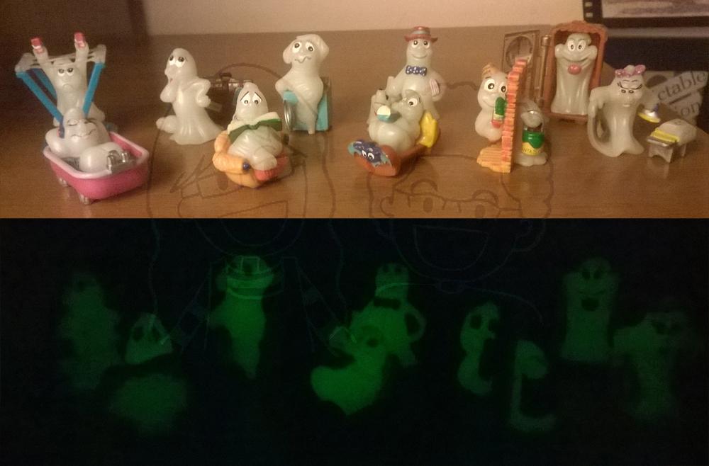 Fosforescenti Fantasmini buio