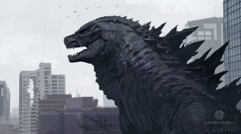 Godzilla design testa