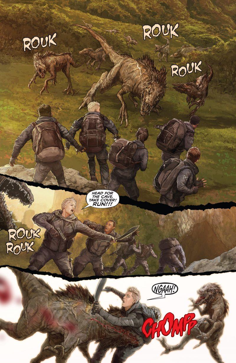 Skull Island Death Jackal fumetti