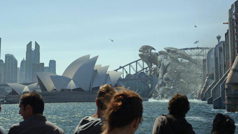 Il Kaiju Mutavore nel film