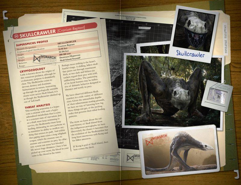 Birth of Kong Skullcrawler identikit