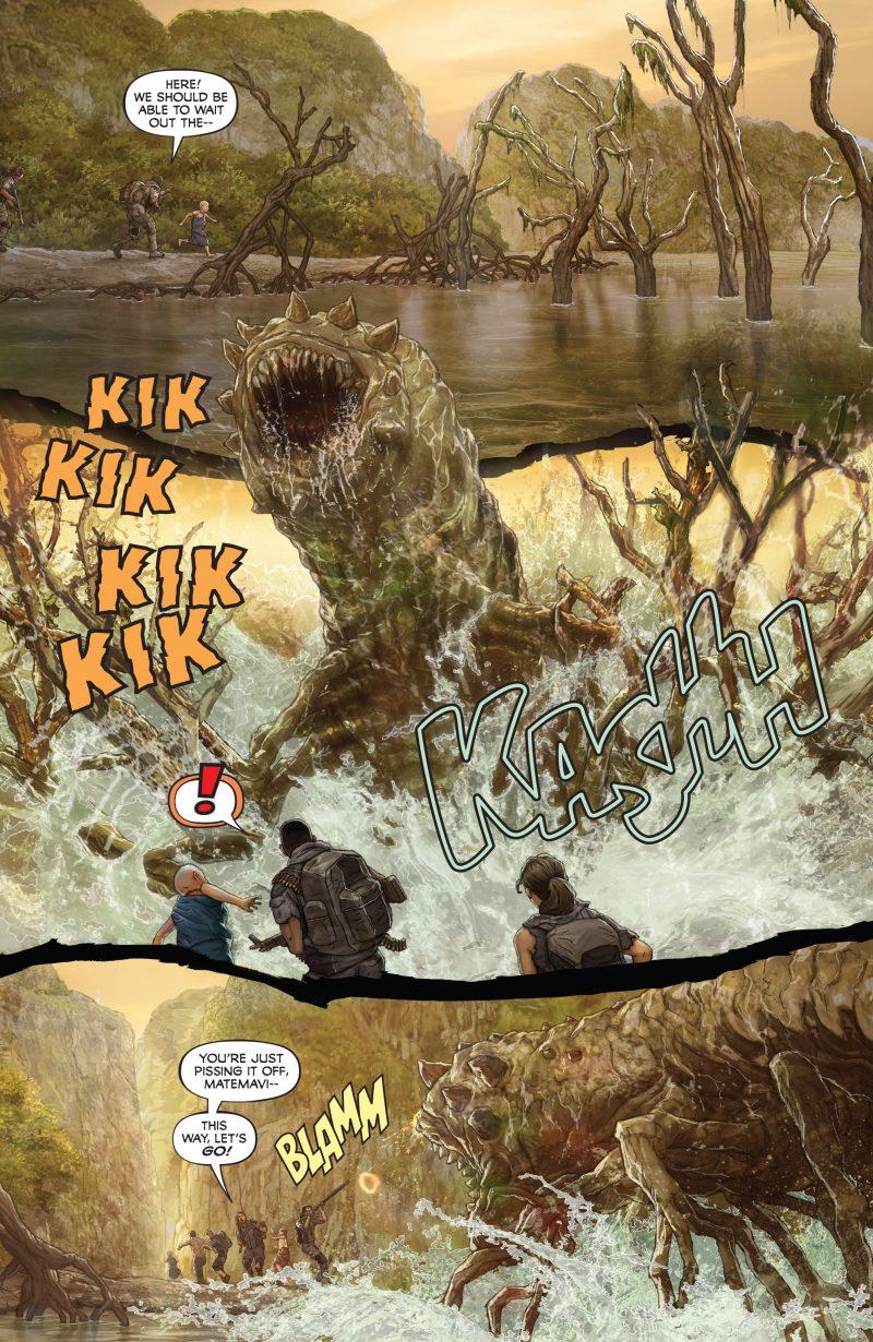 Skull Island - The Birth of Kong Swamp Locust