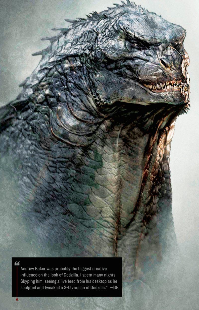 Concept art di Godzilla