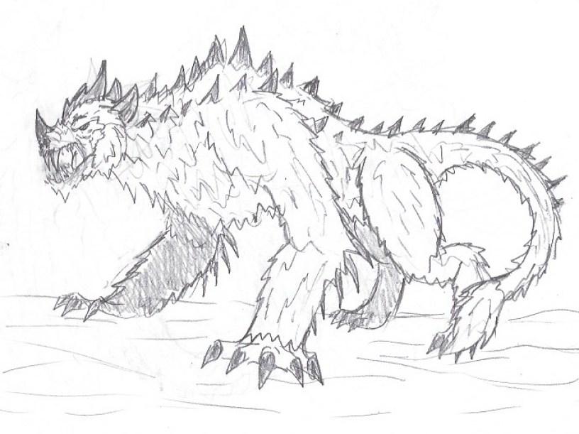 Skhmet disegno Monsterverse