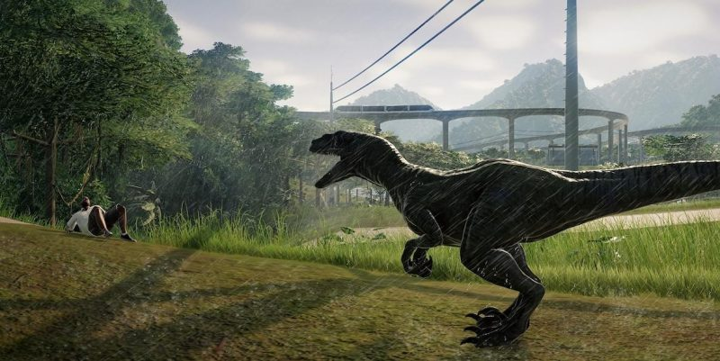 Jurassic World Evolution raptor