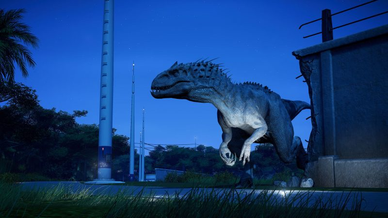 Jurassic World Evolution Indominus