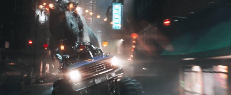 T-rex ready player one film