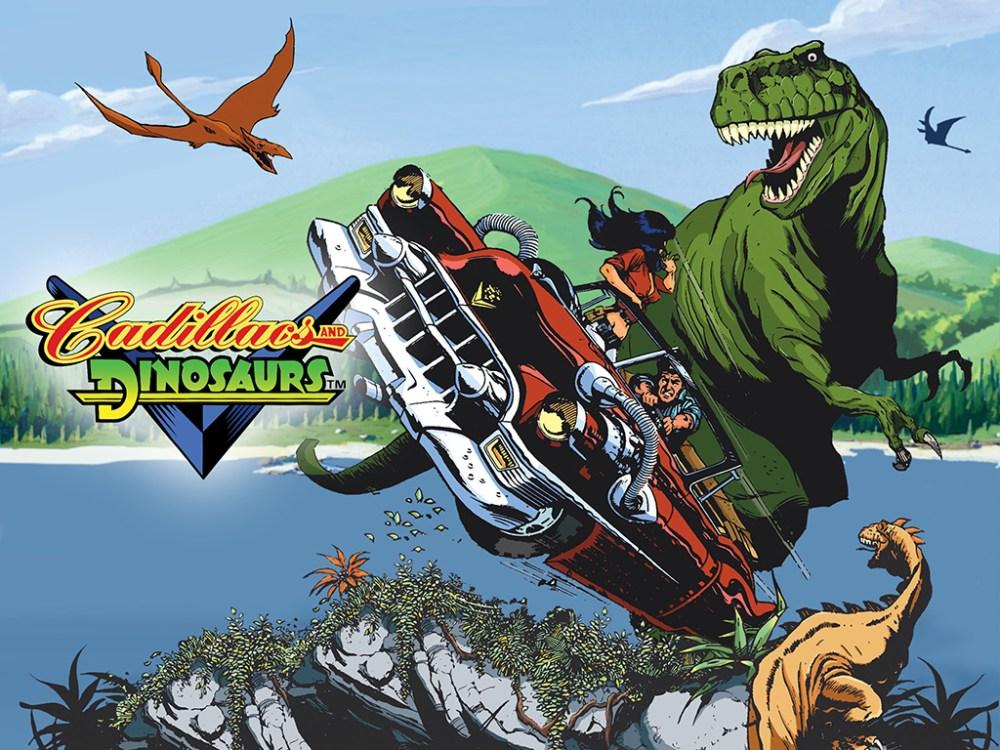 Cadillacs & Dinosaurs poster