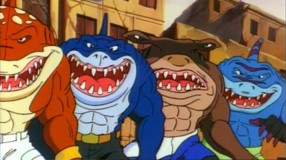 Street Sharks protagonisti