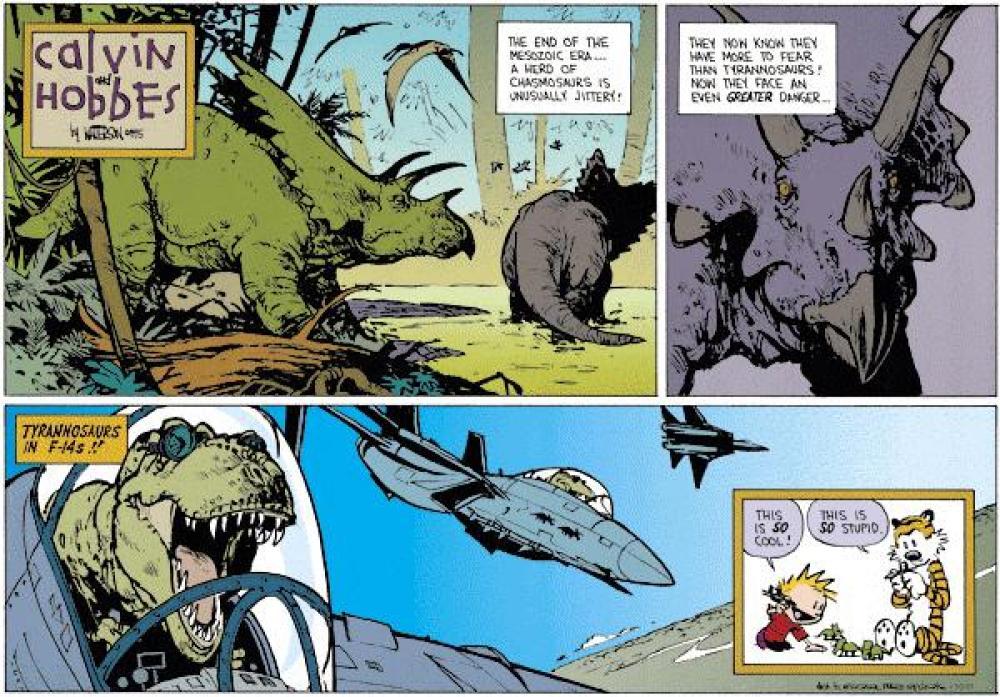 Jurassic Park fumetti T-Rex