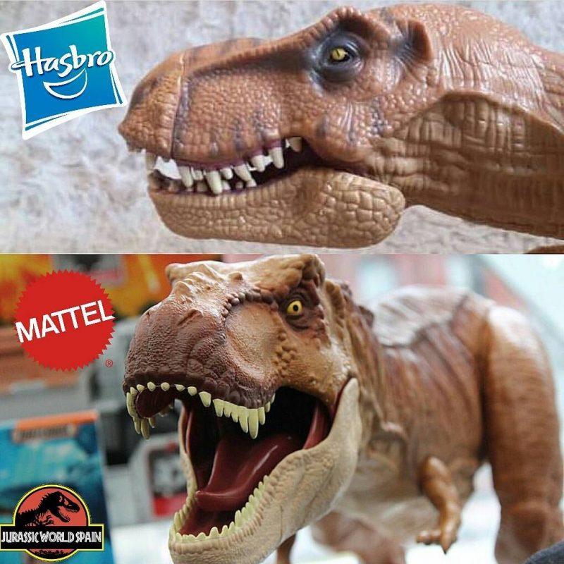 Tirannosauro modellino Hasbro e Mattel