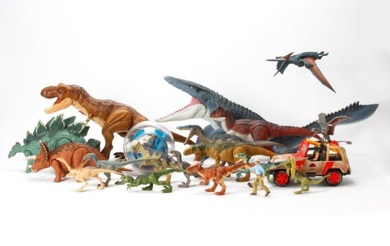 Giocattoli di Jurassic Park e World