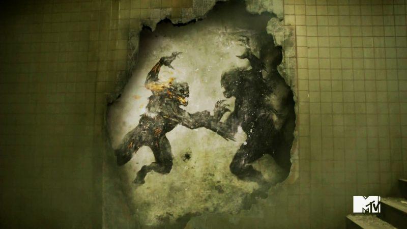 Mastino contro Bestia Teen Wolf