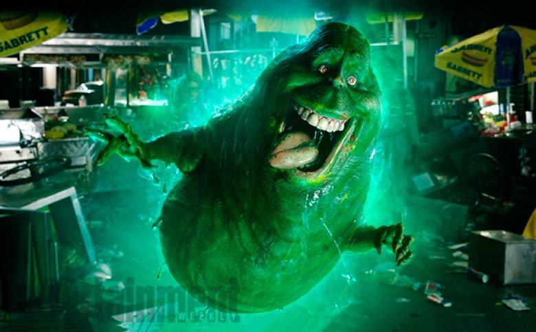 Slimer fantasma scena Ghostbusters