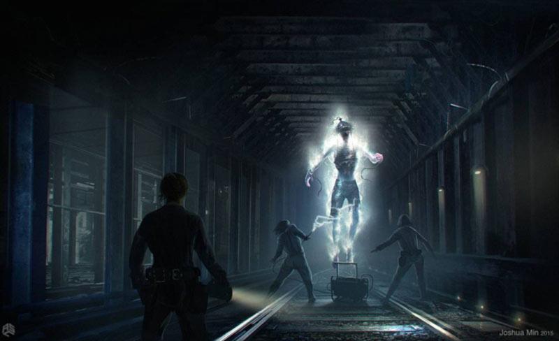 Fantasma fulminato di Ghostbusters