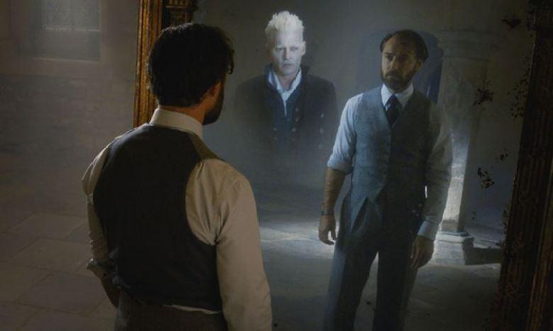 Silente e Grindelwald allo specchio