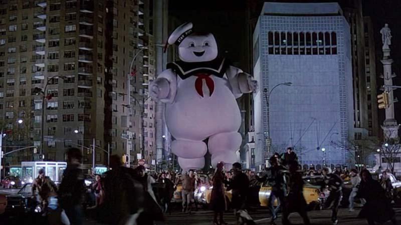Uomo marshmallow cattivo Ghostbusters