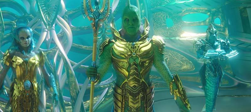 Aquaman Pescatori popolo film