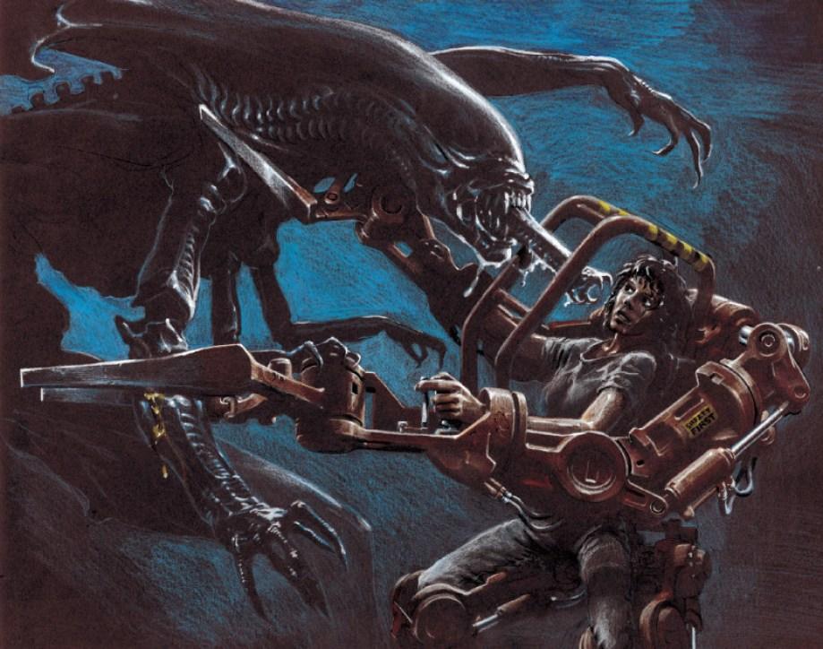 Alien Bestiario Queen vs Ripòey
