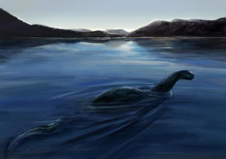 Bennie Mostro del lago di Garda artwork