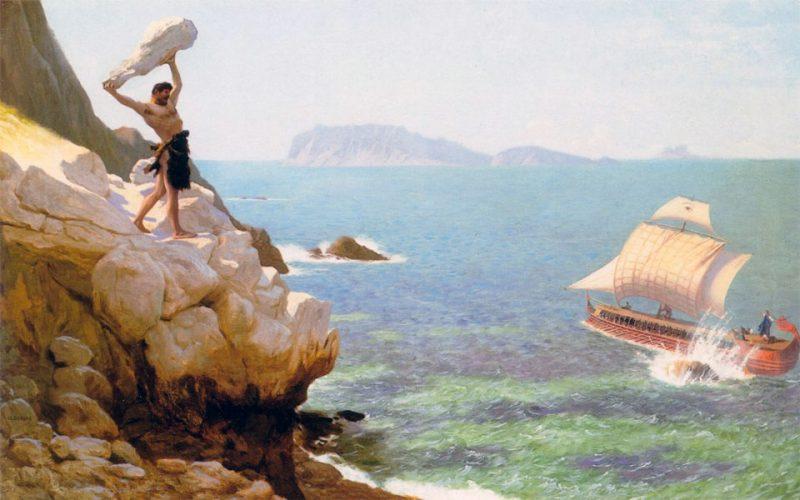 Quadro di Polifemo in Sicilia