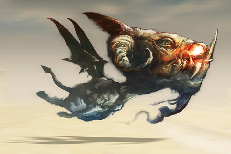 Caurascia creatura leggendaria della lombardia