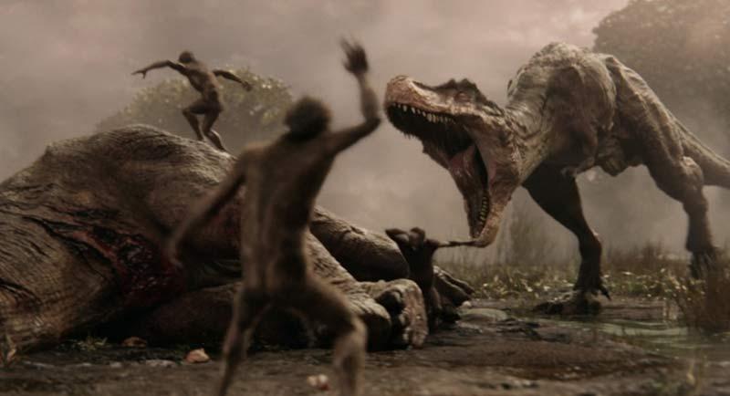 dinosauri love death robots