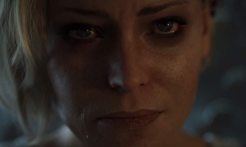 donna ragno telepatica love death and robots
