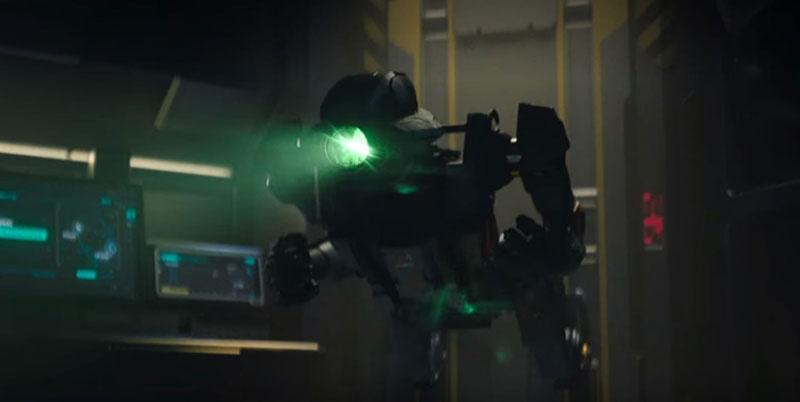 love death robots droide