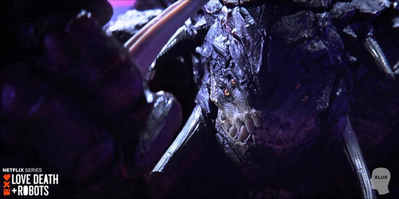 love death robots turboraptor bestia