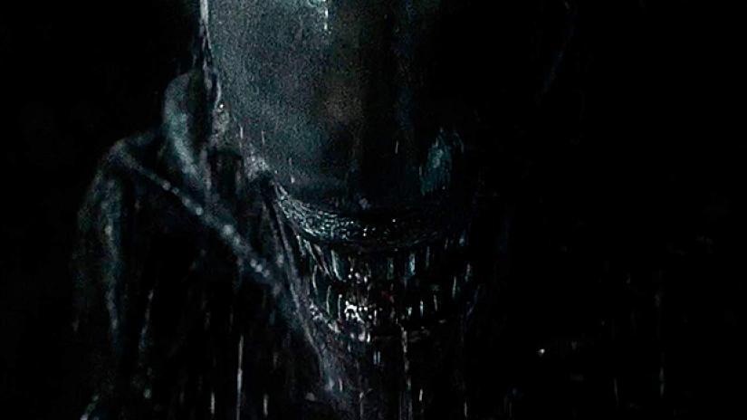 Alien primo piano dello Xenomorfo
