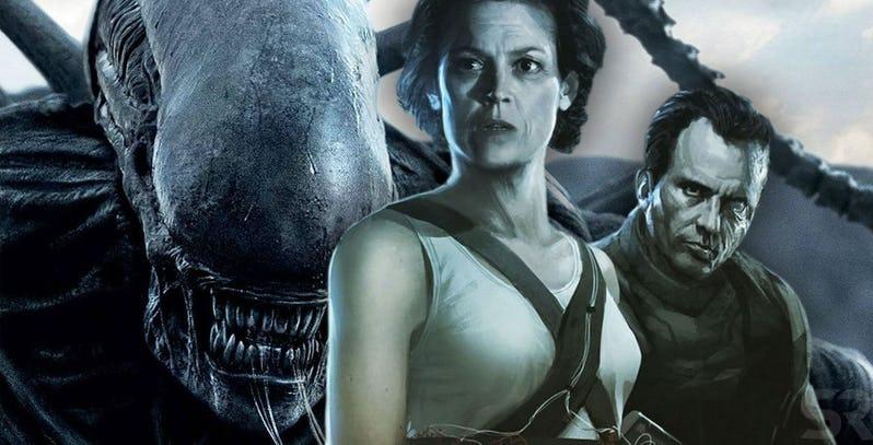 Character poster di Alien 5 di Neill Blomkamp