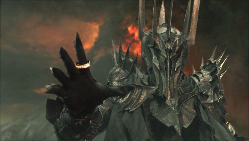 Sauron Armatura anello